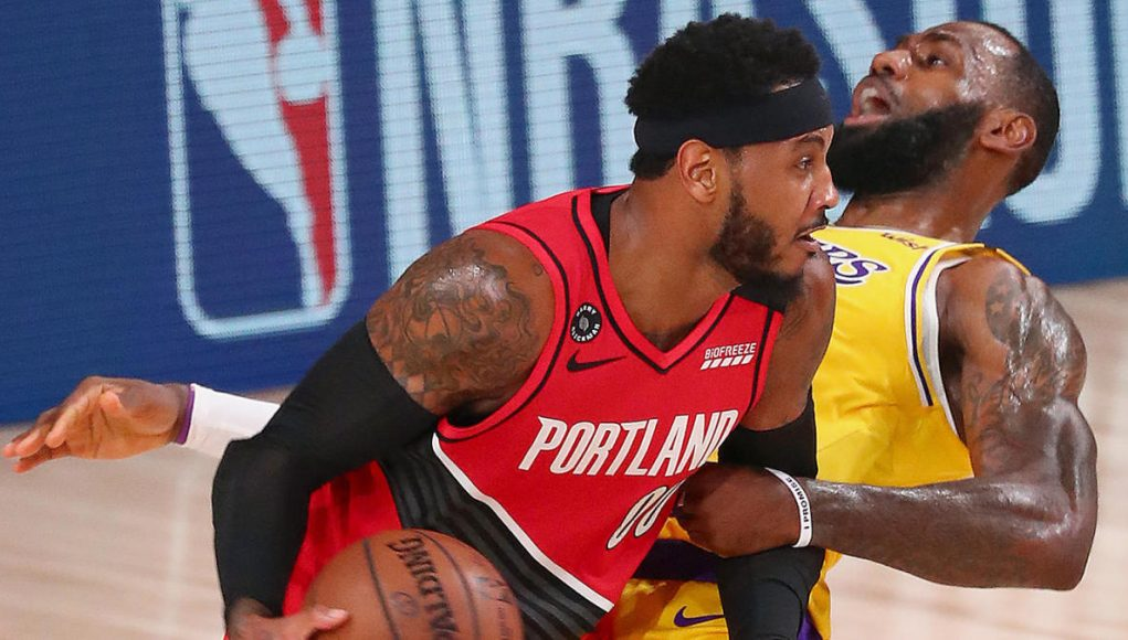 Lakers vs. Blazers score: Live NBA playoff updates as LeBron James, Anthony Davis eye series lead in Game 3