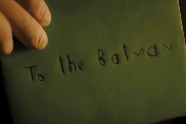 The Batman FanDome Trailer: The Riddler's riddle has been solved.