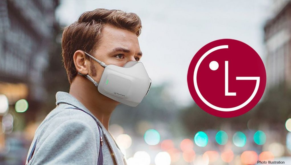 LG to release an air purifying face mask for 'clean,' 'assisted' breathing