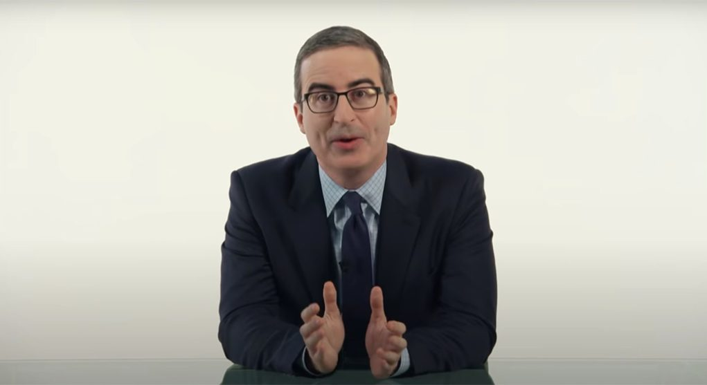 John Oliver Continues Friendly Feud With Danbury; City Mayor Retaliates With An Offer Full Of Sewage