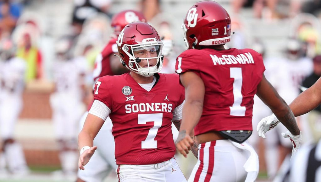 College football scores, NCAA top 25 rankings, Week 2: Texas' Ehlinger, Oklahoma's Rattler dominant in wins