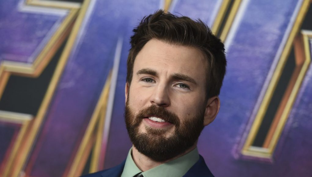 Chris Evans uses penis pic attention to urge people to vote