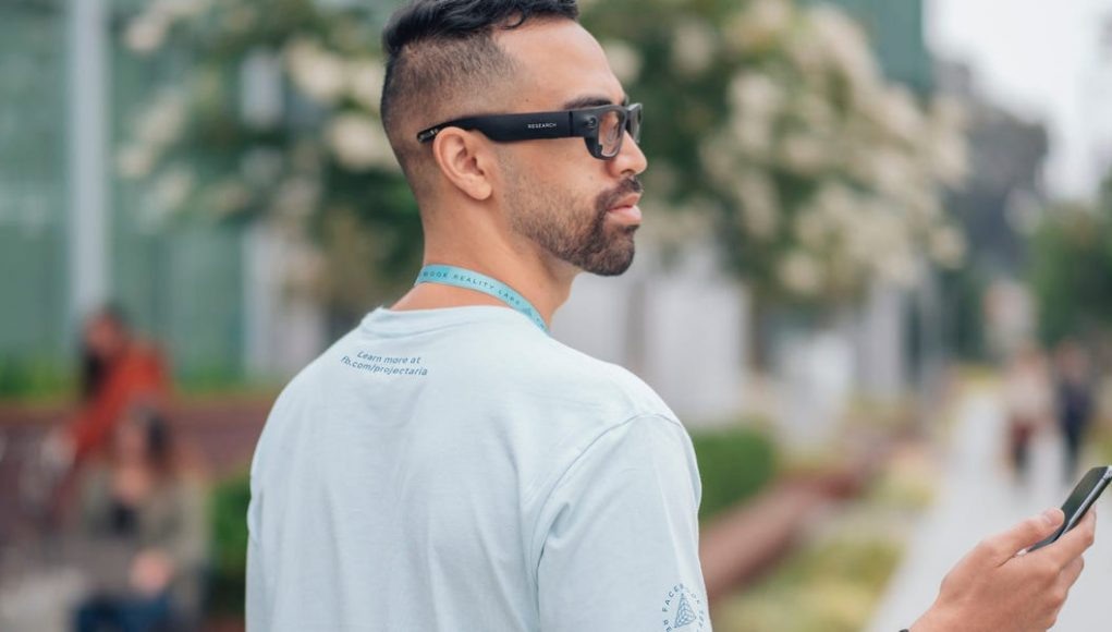 Facebook's 'Project Aria' photographs the world with camera glasses