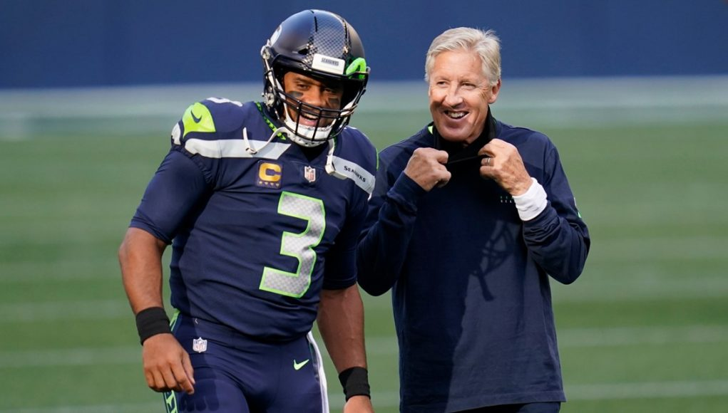 Seahawks coach Pete Carroll fined $100,000 for violating NFL face mask policy and team fined $250,000