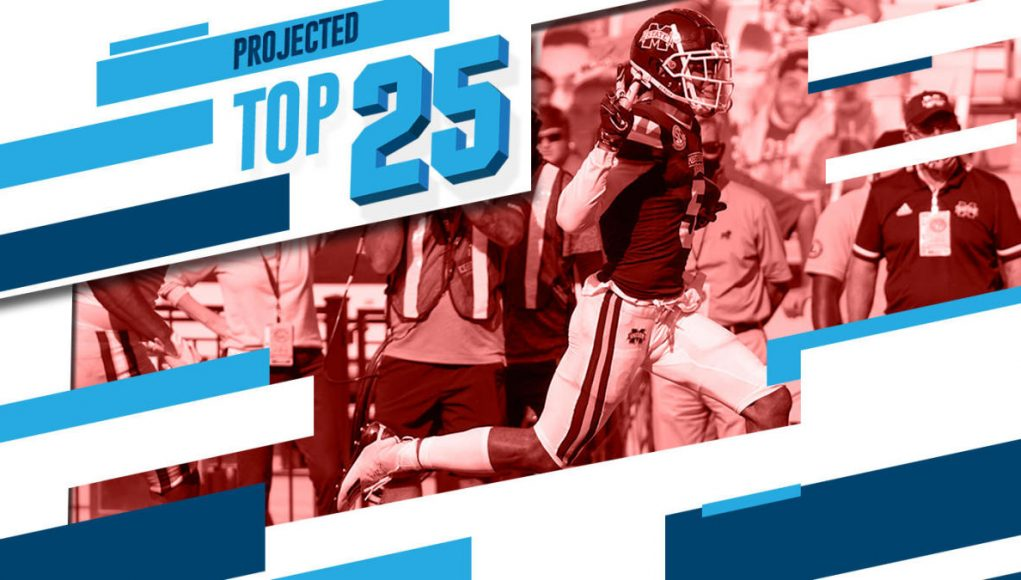 Tomorrow's Top 25 Today: Mississippi State jumps in as Big Ten reenters new college football rankings