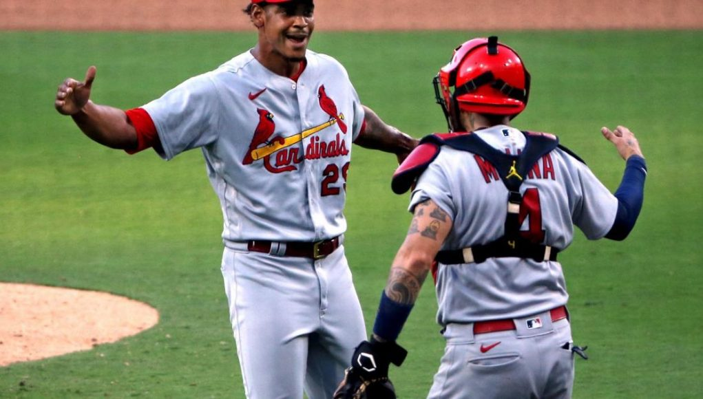 Cardinals 'send a message' to Padres in 7-4 first-game victory in wild-card series
